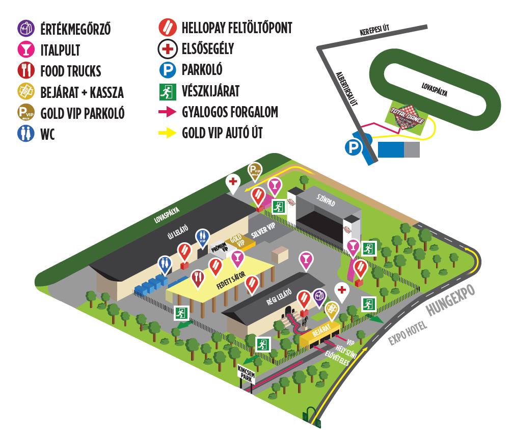 budapest park térkép Total Dance Festival budapest park térkép